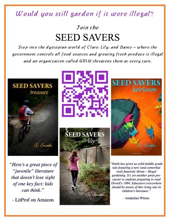 Seed Savers book marketing