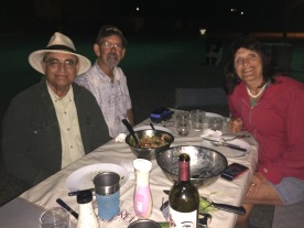 Cy, Barry, & Janine at the RV