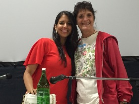 "Janine with the ""Food Babe"", Vani Hari"