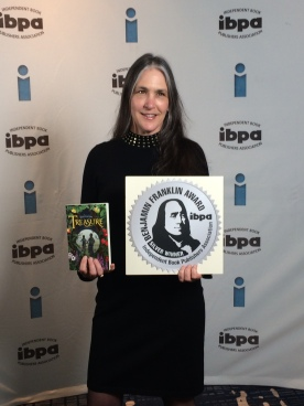 Yay! Silver Ben Franklin Award.