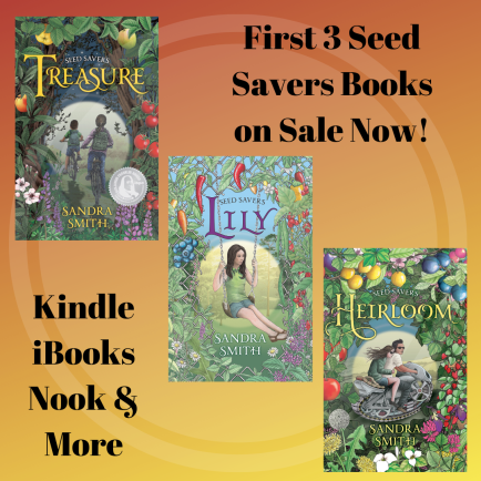 INsta First 3 Seed Savers Books on Sale Now!